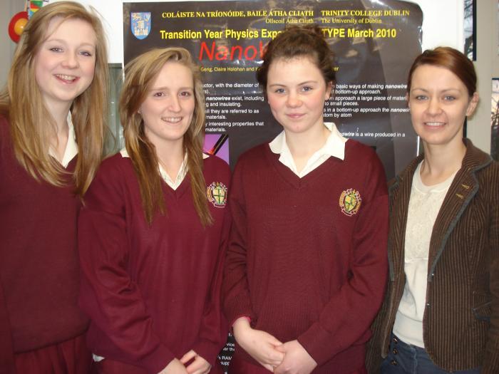 chicas irlandesas con uniforme